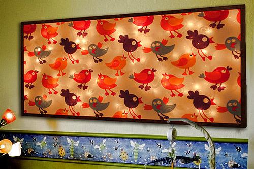 Children's light panel