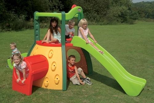 Children's outdoor slide