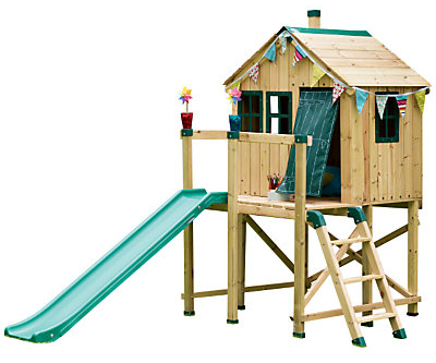 Outdoor playhouse and activity centre