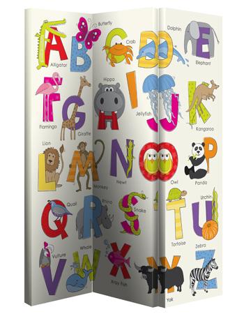 Children's Folding Scree Room Divider
