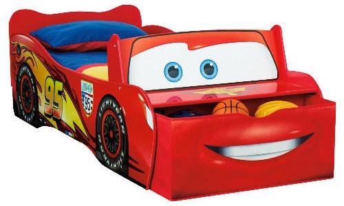 Cars 2 Lightening Mcqueen Feature Bed