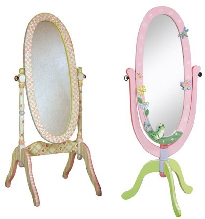 Full length floor standing mirrors
