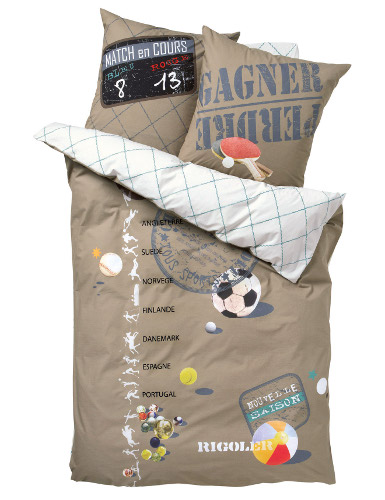 Boy's international football duvet cover