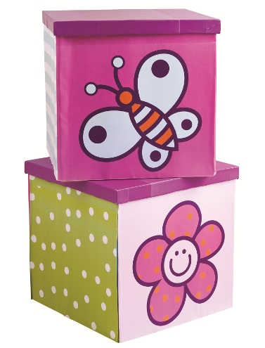 Girlie storage boxes