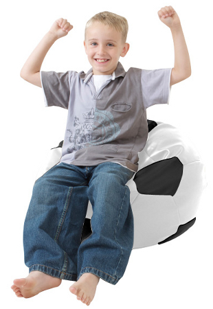 Kid's football bean bag