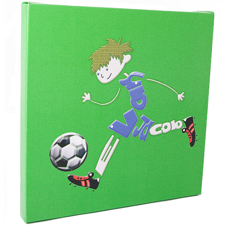 Personalised footballer wall canvas