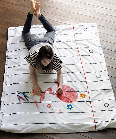 Pesonalised duvet cover