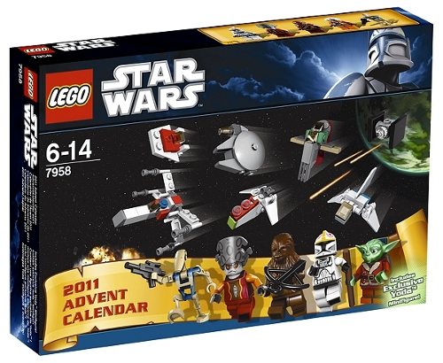 Star Wars themed advent calendar from Lego