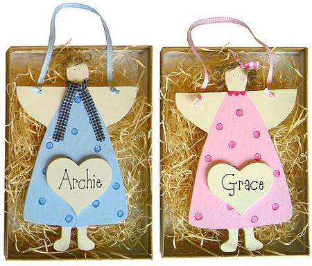 Personalised Christmas Angels