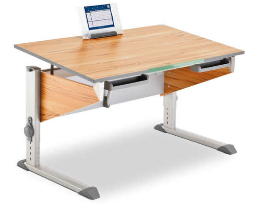 Kid's budget level ergo desk