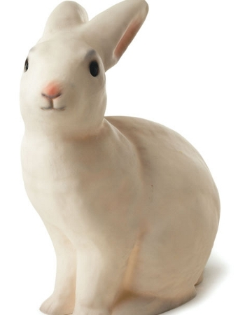 White rabbit night lamp