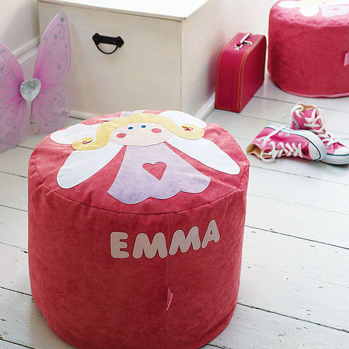Cute personalised beanbag for kids