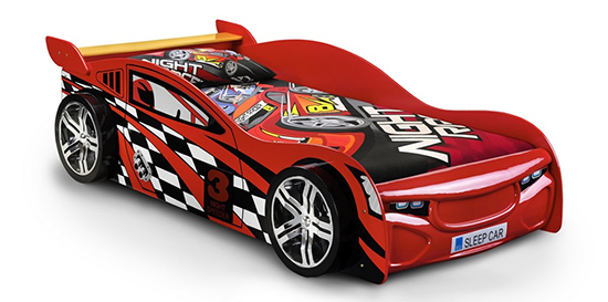 Scorpion Racing Car Bed