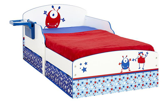 Ladybird Toddler Bed