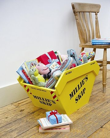 Personalised Toy Skip Toy Box