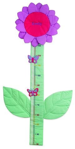 Padded cotton sunflower height chart