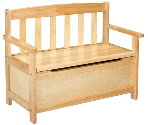 wood toy box bench plans