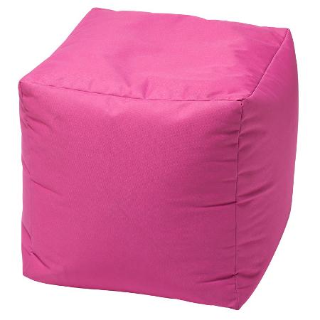 Large cube style bean bag