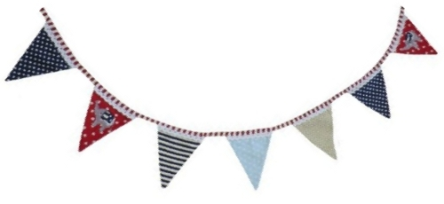 Circus themed bedroom bunting