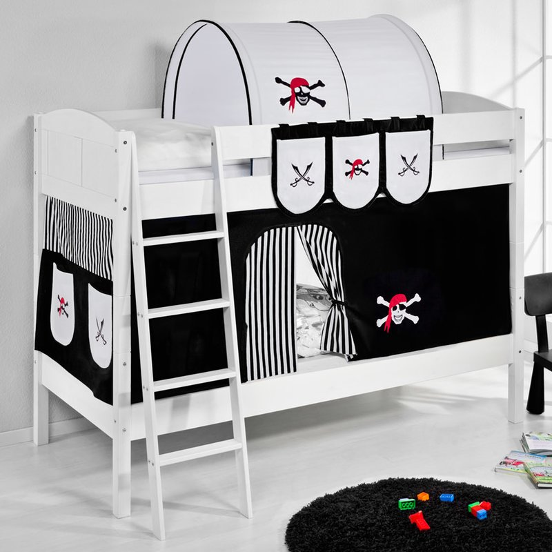 Pirate European Single Bunk Bed