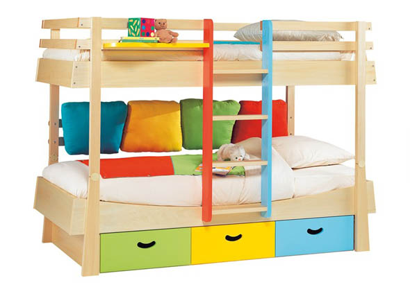Calico Bunk Bed Set
