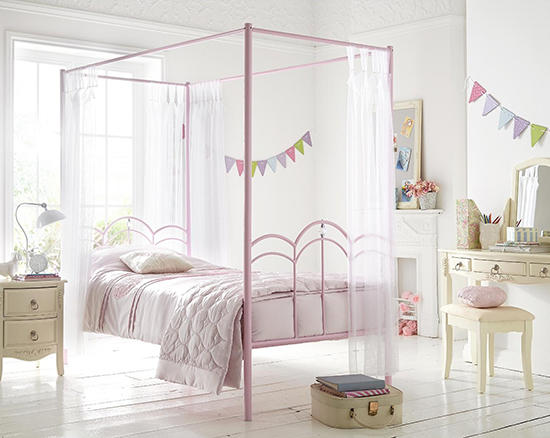 Ladybird Ruby Kids 4 Poster Bed