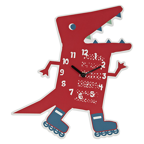 Dino_was_here_wall_clock