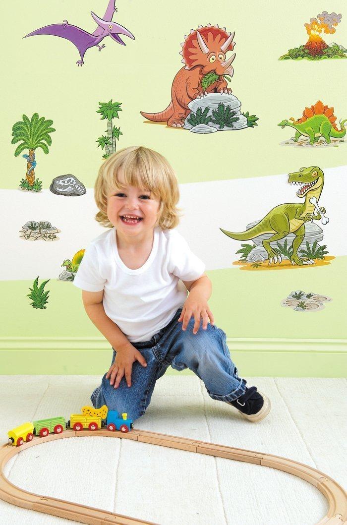Dinosaur Nursery and Bedroom Wall Stickers