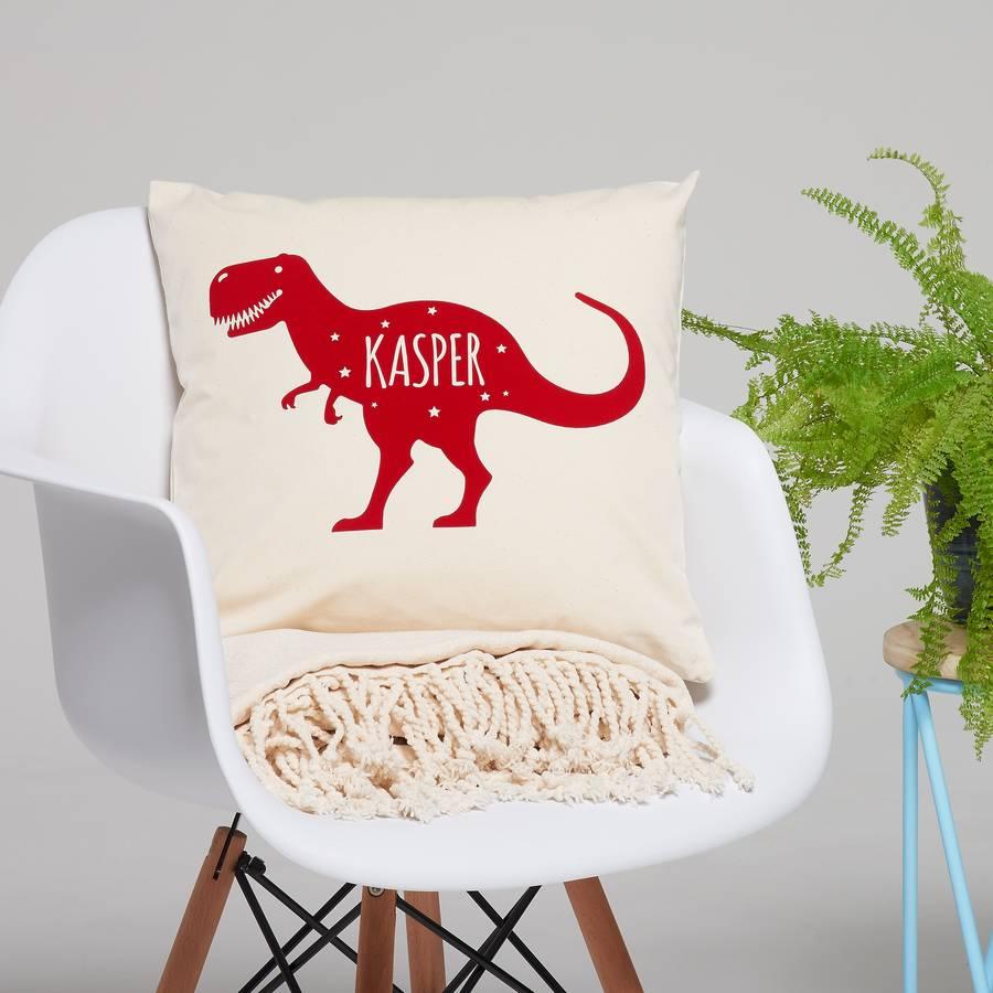 Children's Dinosaur Cushion